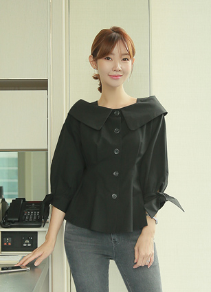 Melbourne Widecara Blouse