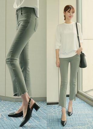 Margaret Secret Bending Cotton Pants (403) (S, M, L)