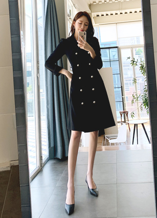 Sharon Pearl Tailored One-piece dress