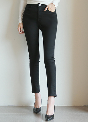 Real Secret Banding Cotton Skinny Pants(929) <br>