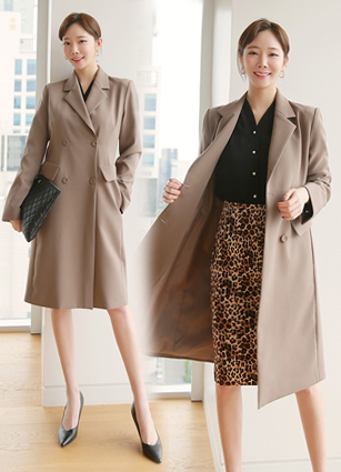 Lelang Modern Long Jacket (S, M)
