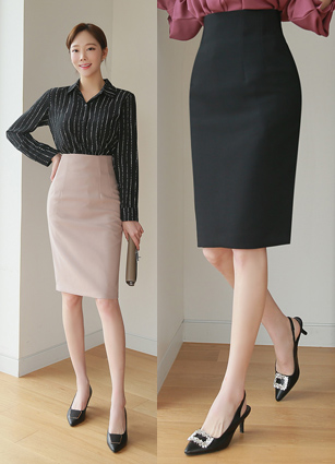 FWSeason High-waist Skirt (S, M, L)