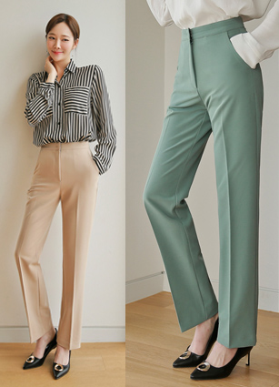 <b><FONT color=#980000>New 10% discount</font></b> <br> Kouch Secret Banding Tencel Date Slacks (S, M, L)