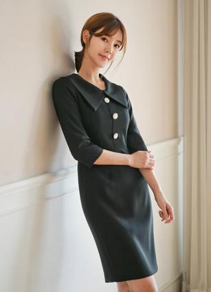 Her Big Cara One-piece dress (S, M, L)