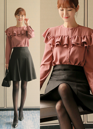 Amelie Frill Blouse