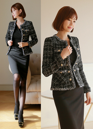 Muse Tweed Jacket (S, M, L)