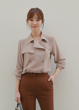 Mir Trench Blouse <br>