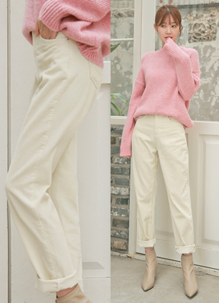Sainte Corduroy Wide Pants (416) (S, M, L)