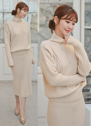 Helena Wool Knit Two Piece <br>