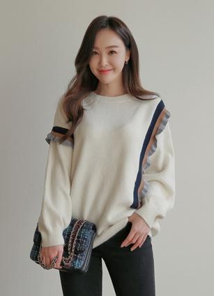 Alexa Frill Knit