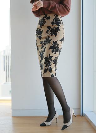 Viache Flower Skirt (S, M, L) <br>