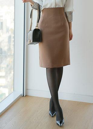 F / W Anti-High Waist Skirt (S, M, L) <br>