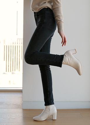 Pact Mink Fur Lining Secret Banding Jeans(764)(S,M,L,XL) <br>