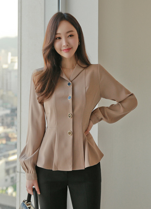 Pierre Shawl Blouse <br>