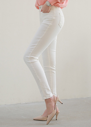 Pit good! Secret Bending Skinny Pants (1002) (S, M, L, XL)