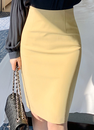 <b><FONT color=#980000>Today only! This price ♡ 10% discount</font></b> <br> Pencil HLine Skirt (S, M, L) <br> [49Piece Reviews] <br>