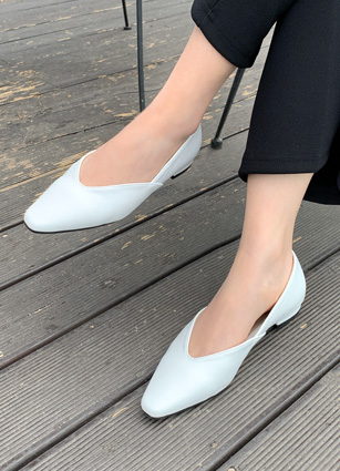 "Brinew Simple Flat Shoes <font color=""#ed1558""><b>[Heel:1.5cm]</b> <br></font>"