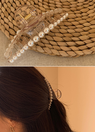 Roman Pearl Tongs Hairpin