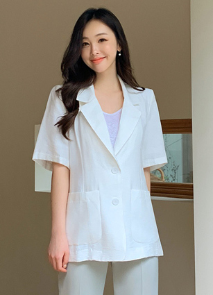 Momo Short-sleeve Jacket <br>