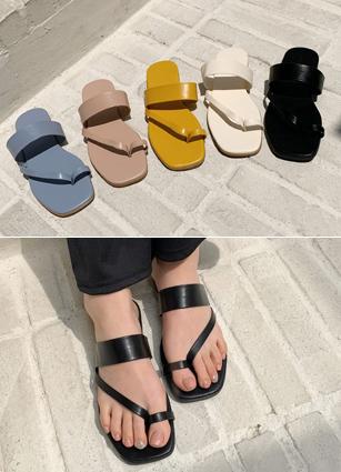 """Forest Sand Sandals <font color=""""#ed1558""""><b>[Heel:1cm]</b> <br></font>"""