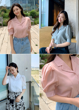 <FONT color=#D2691E>Weekend only! Cool 20%SALE!</font> <br> Luming Kara Blouse <br> <FONT color=#0100FF>Order runaway! Same-day delivery when ordering alone</font> <br>