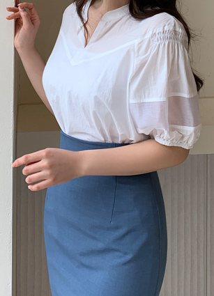 Its volume retail cool~Blouse <br>